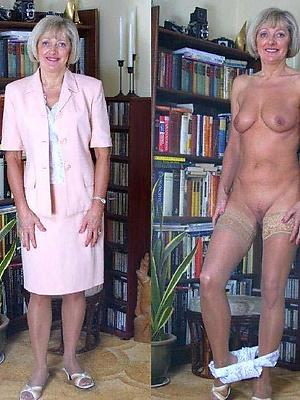 porn pics of matured dressed vs undressed