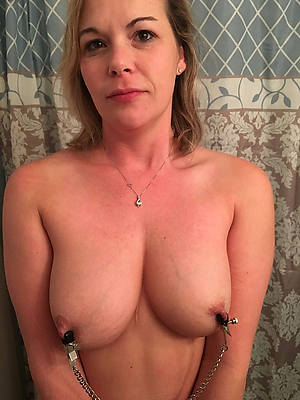 beautiful mature column with big nipples