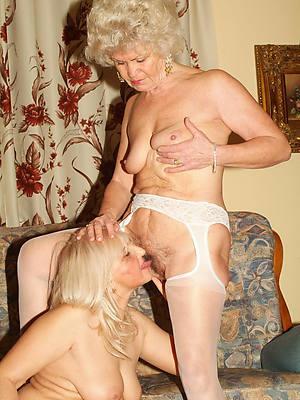 mature lesbians kissing
