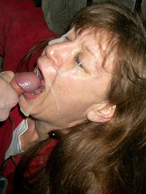 mature wife facial porn pic download