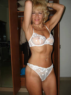 porn pics be fitting of blonde mature unveil
