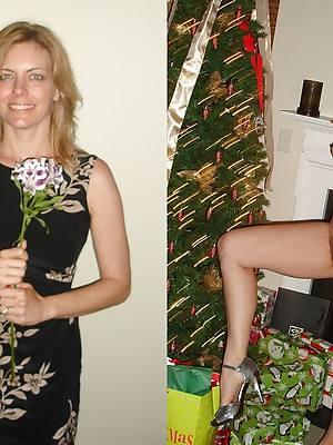 crazy mature dressed undressed pictures
