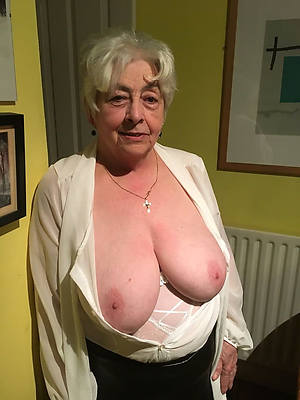 colored hair mature women old