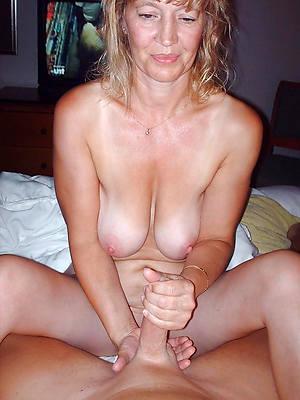 beautiful handjob mature porn pics