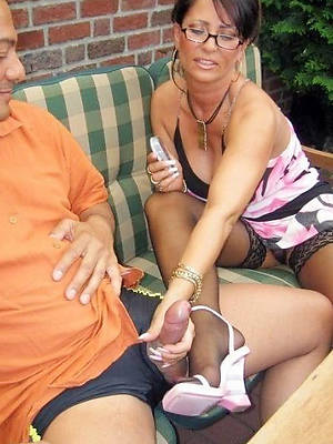 naughty mature handjob pictures