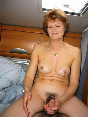 crazy mature handjob pictures