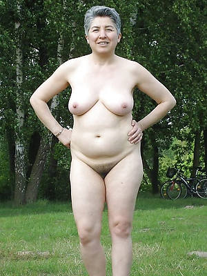 mature women over 50 stripped
