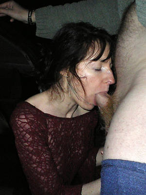 gorgeous mature wife blowjobs nude photos