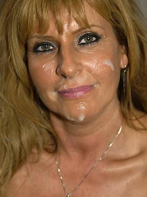 hot bungling mature women facials stripped