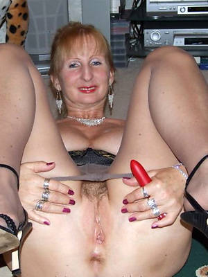 mature women in Y-fronts cunt lips