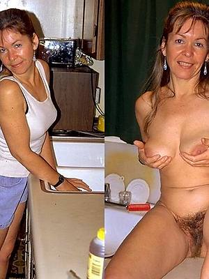 beautiful mature before dressed and after bare-ass pics