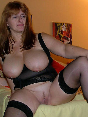 naked of age housewife stockings stripped