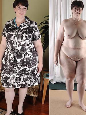 porn pics be incumbent on milf dressed undressed