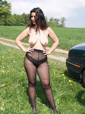 mature pantyhose pussy good hd porn