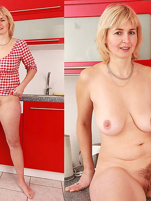 woman dressed with the addition of nude mom porn