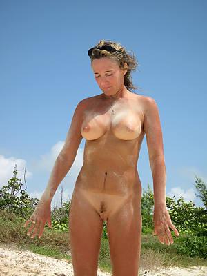 mature on beach porn photos