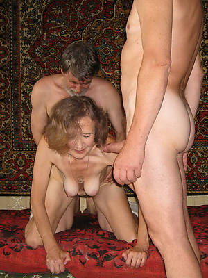porn pics be fitting of mature threesome amateur