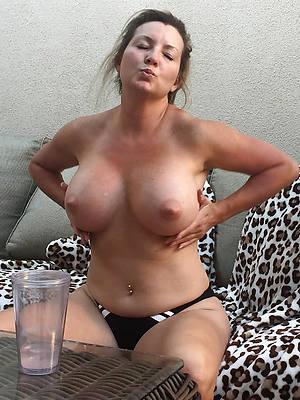 wide-ranging mature tits hot porn pics
