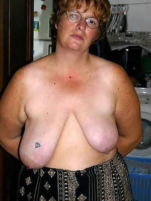 sweet nude huge saggy mature