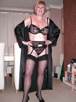 sexy mature stockings beuty pussy