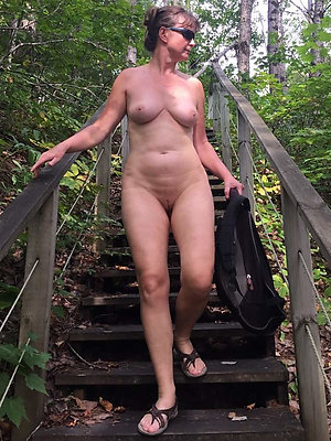 crazy outdoor mature nude xxx