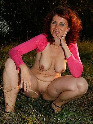 gorgeous matured ladies outdoors