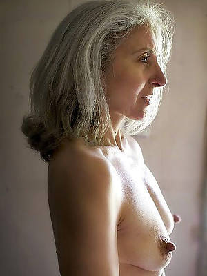 mature ladies over 50 shows pussy