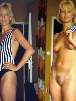 curvy moms dressed and unclothed pics