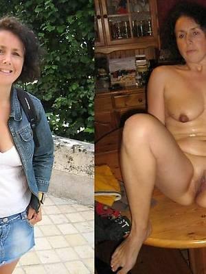 mom dressed undressed