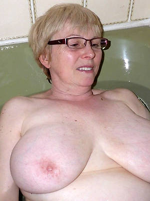 best grown up white lady unprofessional tits