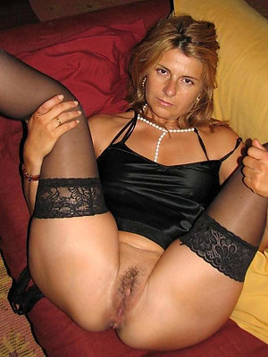 crazy shaved mature pussy