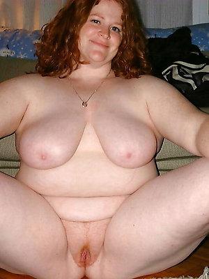 despondent redheaded women posing nude