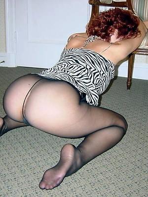 mature wife pantyhose home pics