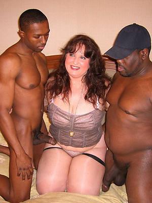 mature interracial fucking