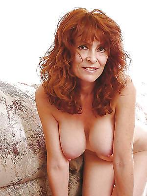 mature redhead wife home pics
