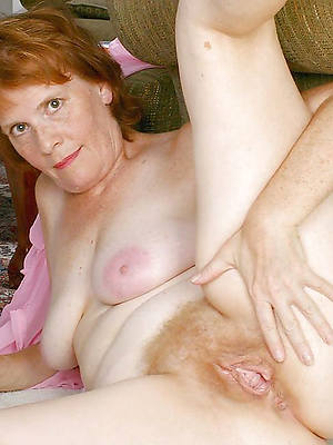 naked mature hairy redhead pussy