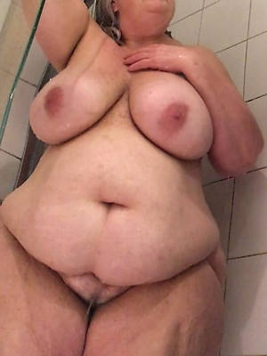 mature wife shower