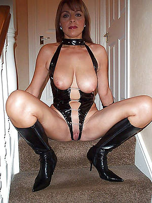 best mature in latex hot porn