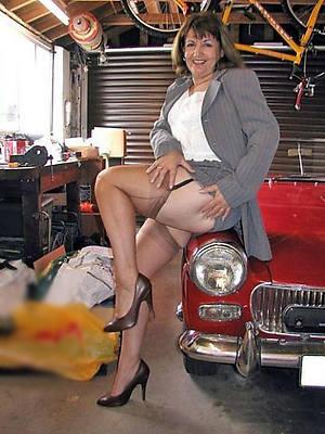 old women in stockings