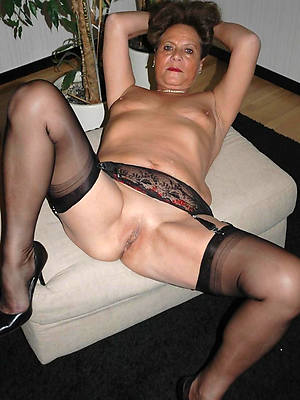 ugly stockings on matures