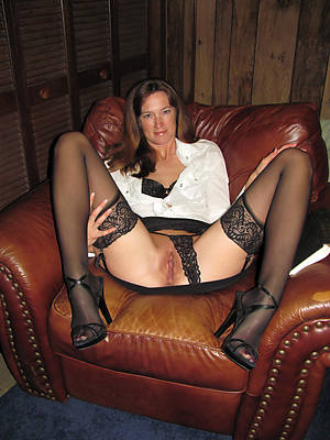 naked xxx mature stockings