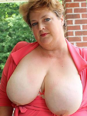 big mature breasts lay eyes on thru