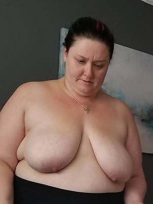 petite natural mature saggy tits