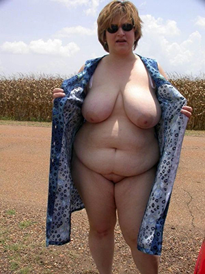 naked pics be expeditious for sexy bbw white women