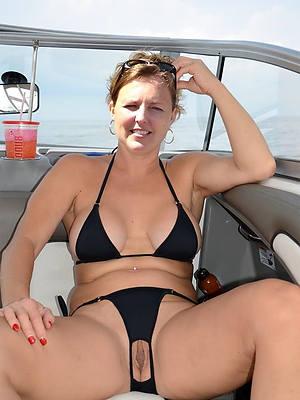 elegant sexy hot mature bikini