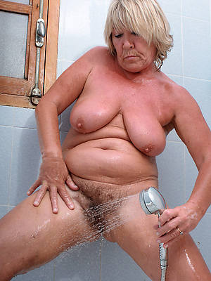 naked pics of mature women in be passed on shower