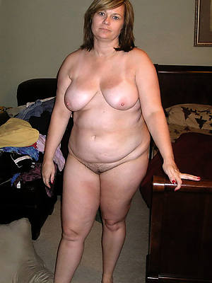 unconcealed pics of horny thick white mature