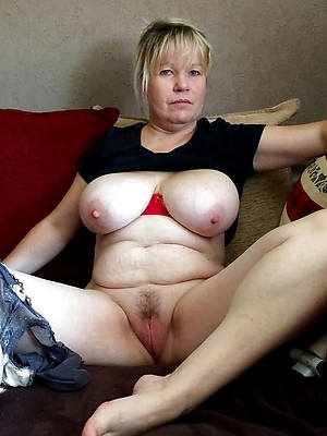 naughty mature older pussy nude photo