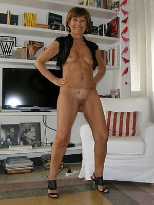 sexy mature woman legs see thru