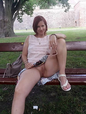 elegant low-spirited british mature upskirt